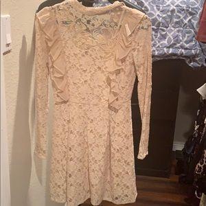 NWOT Topshop lace mini dress
